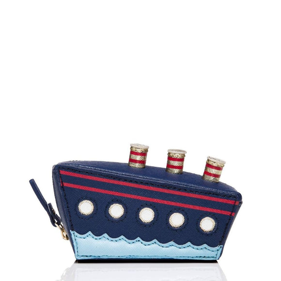 kate spade new york Expand Your Horizons Cruise Ship Coin Purse-Seven Season