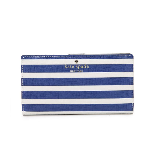 Fairmount Square Stacy Continental Snap Alice Blue and Sandy Beach Wallet