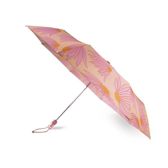 kate spade new york Falling Flower Travel Umbrella-Seven Season