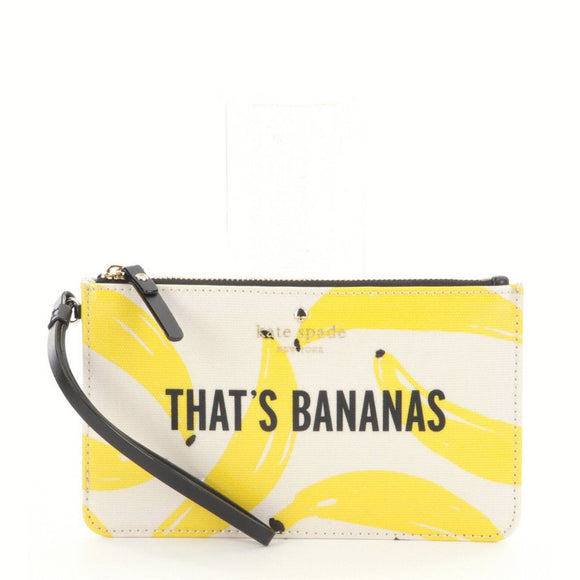 kate spade new york Flights of Fancy That's Bananas Slim Bee Wristlet-Seven Season