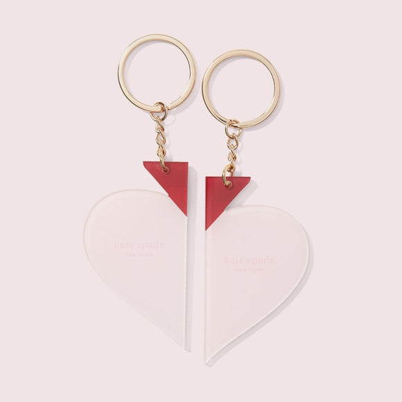 Heart Couple Keychains