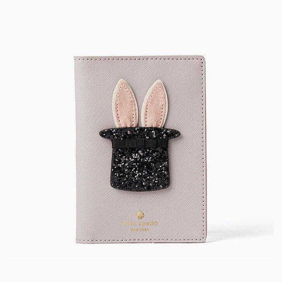 kate spade new york Make Magic Bunny Passport Holder-Seven Season