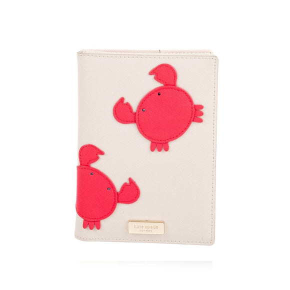 kate spade new york Make a Splash Imogene Crab Passport Holder-Seven Season