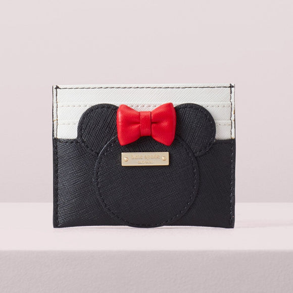 kate spade new york Minnie Mouse Card Case-Seven Season