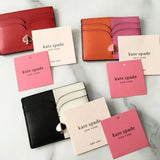 kate spade new york Nicola Bicolor Hot Chili Cardholder-Seven Season