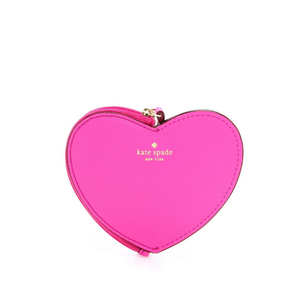 kate spade new york Ooh La La Bougainvillea Heart Coin Purse-Seven Season