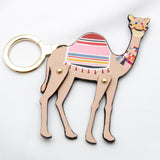 kate spade new york Spice Things Up Camel Keychain-Seven Season