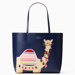kate spade new york Spice Things Up Camel Luvvie Tote-Seven Season