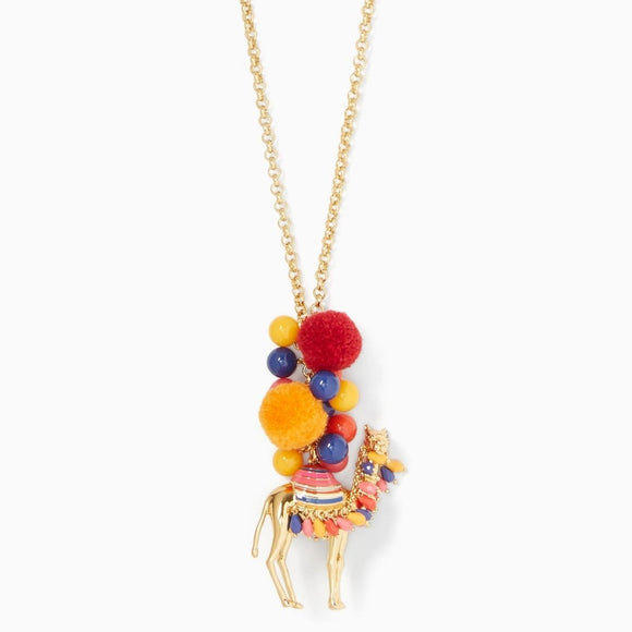 Spice Things Up Camel Pendant Necklace