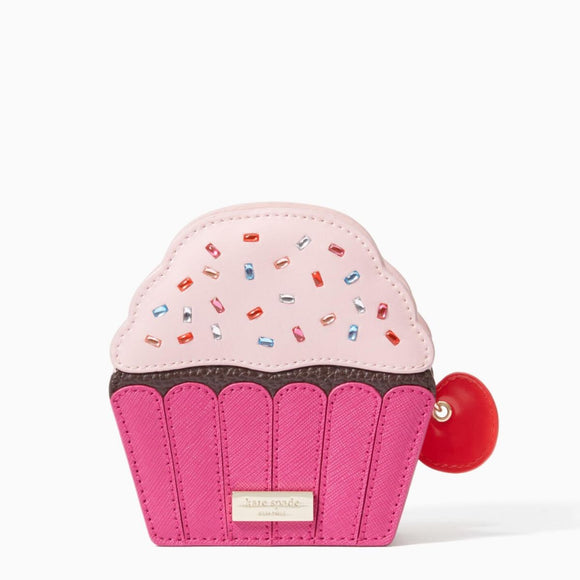 kate spade new york Take the Cake Cupcake Coin Purse-Seven Season