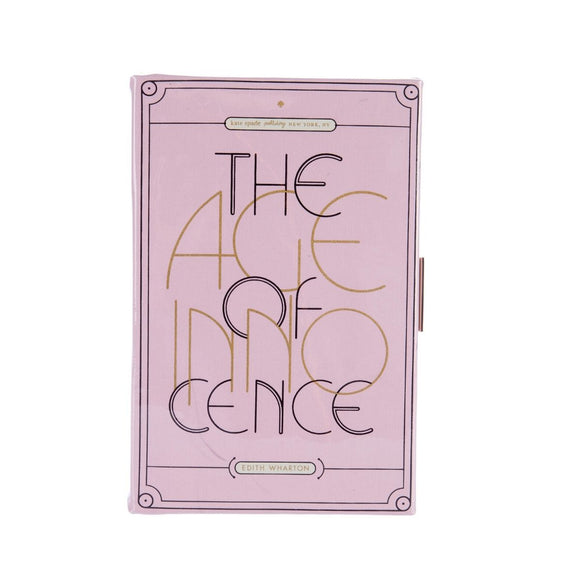 kate spade new york The Age of Innocence Book Clutch-Seven Season