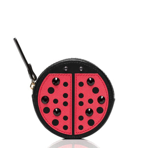 kate spade new york Turn Over a New Leaf Ladybug Coin Purse-Seven Season