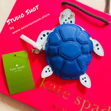 kate spade new york Under the Sea Turtle Coin Purse-Seven Season