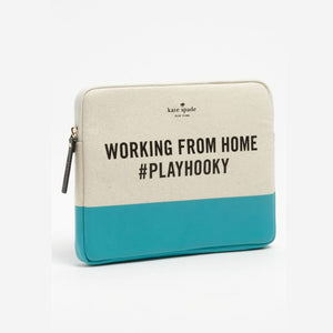 kate spade new york Working from Home iPad Sleeve-Seven Season