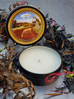 CELEBRATE Holiday Candle Tin - Manifest Destiny