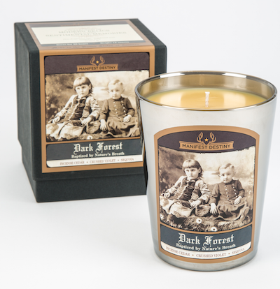DARK FOREST Luxury Candle - Manifest Destiny