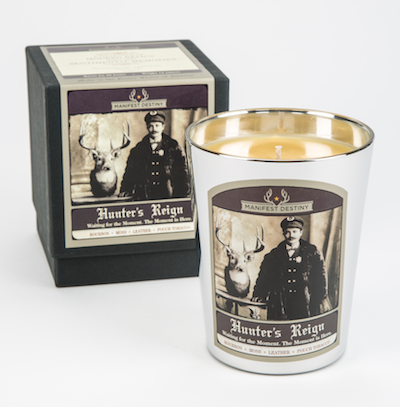 HUNTER'S REIGN Luxury Candle - Manifest Destiny