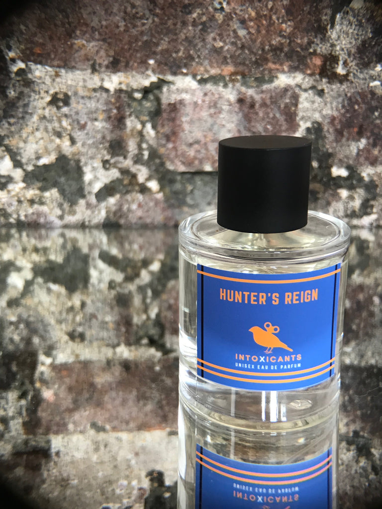 Hunter's Reign - Eau de Parfum 100 mL - Bourbon Leather Pouch Tobacco - Manifest Destiny