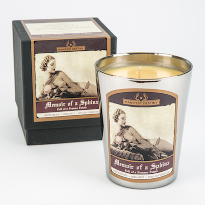 MEMOIR OF A SPHINX Luxury Candle - Manifest Destiny