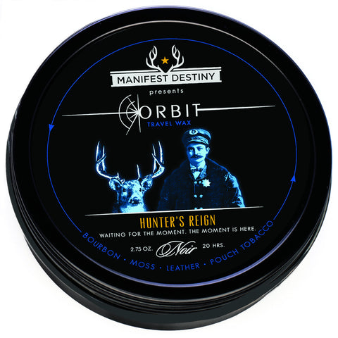 ORBIT TRAVEL WAX - VINTAGE VELVET Luxury Candle Tin