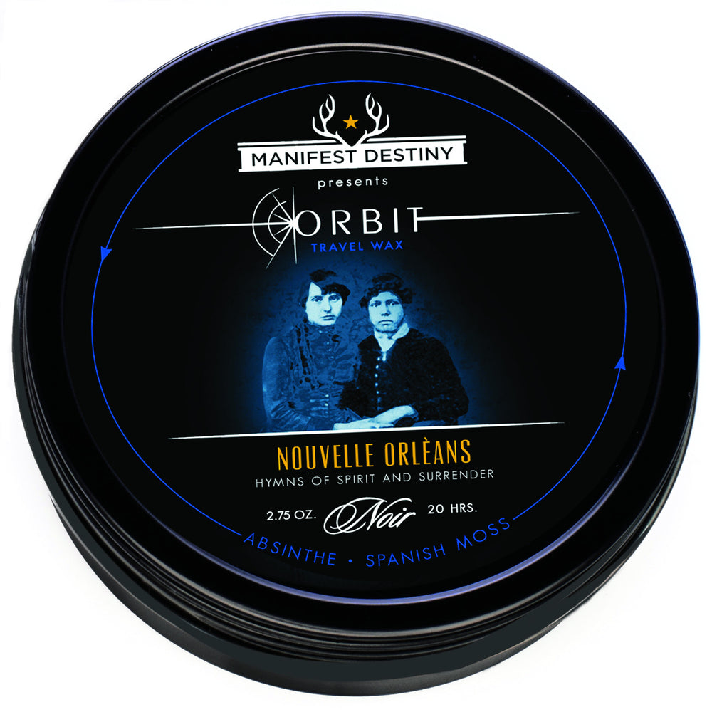 ORBIT TRAVEL WAX - NOUVELLE ORLEANS Luxury Candle Tin