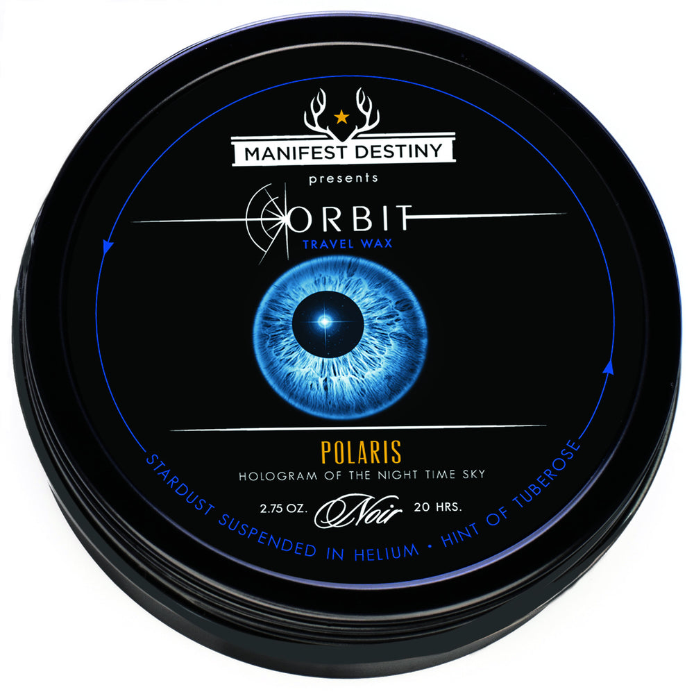 ORBIT TRAVEL WAX - POLARIS Luxury Candle Tin - Manifest Destiny