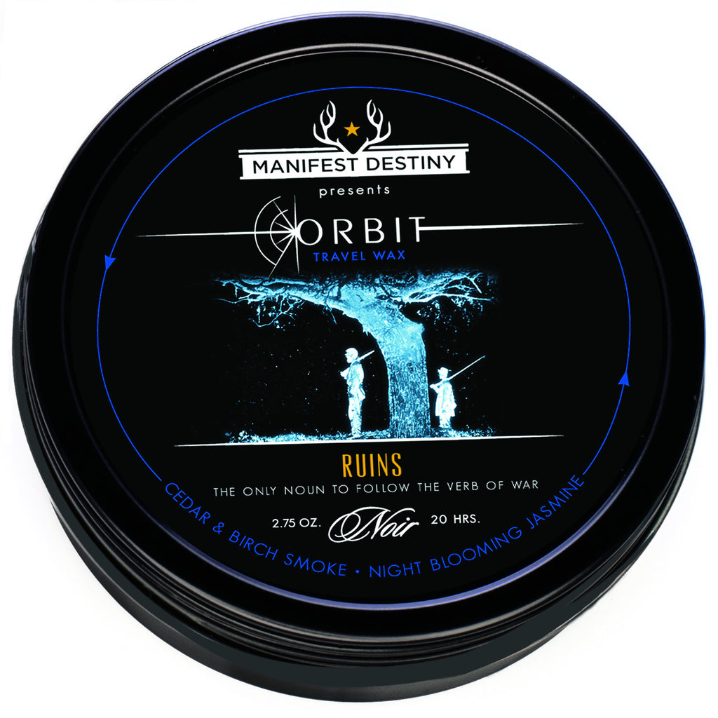 ORBIT TRAVEL WAX - RUINS Luxury Candle Tin