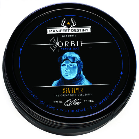 ORBIT TRAVEL WAX - SEA FLYER Luxury Candle Tin