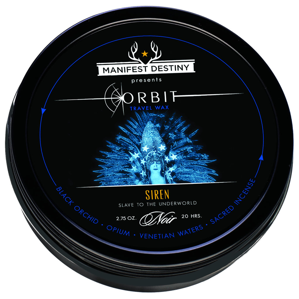 ORBIT TRAVEL WAX - SIREN Luxury Candle Tin - Manifest Destiny