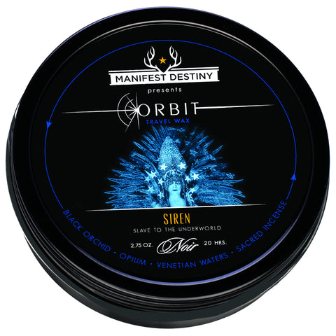 ORBIT TRAVEL WAX - SIREN Luxury Candle Tin