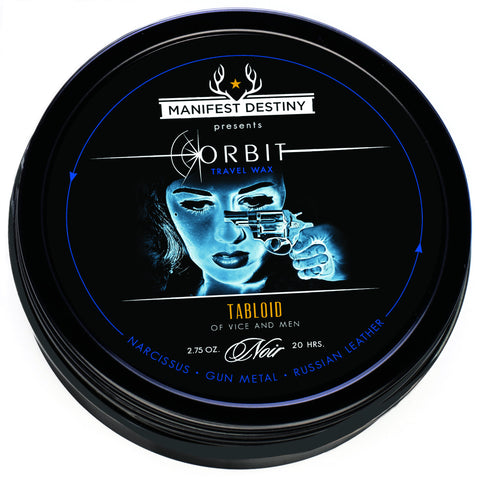 ORBIT TRAVEL WAX - TABLOID Luxury Candle Tin