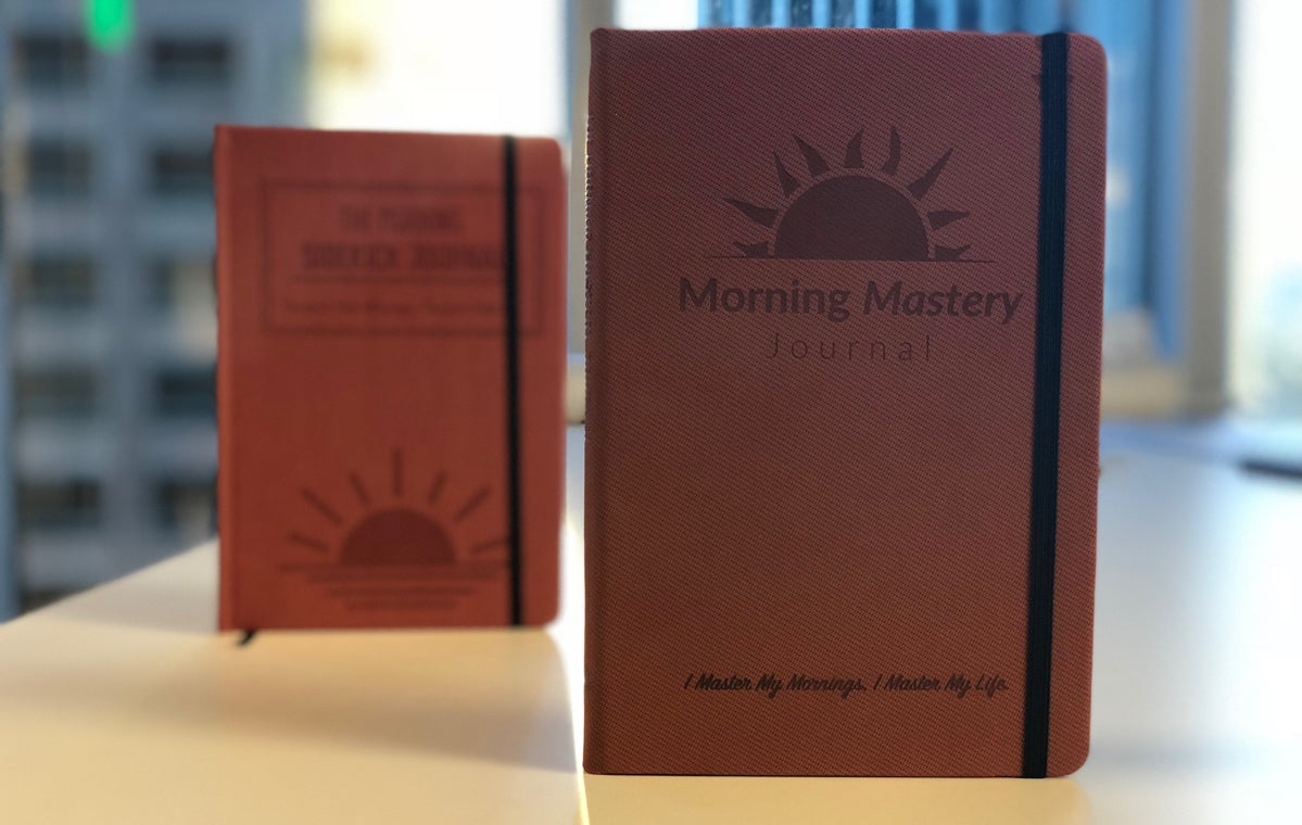 morning mastery journal, morning sidekick journal, morning ritual, habit tracker, miracle morning