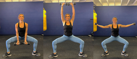 3a. Lateral Lunge to Reverse Lunge