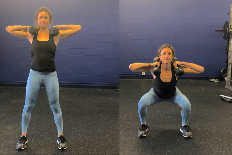 1d. Side to Side Squat