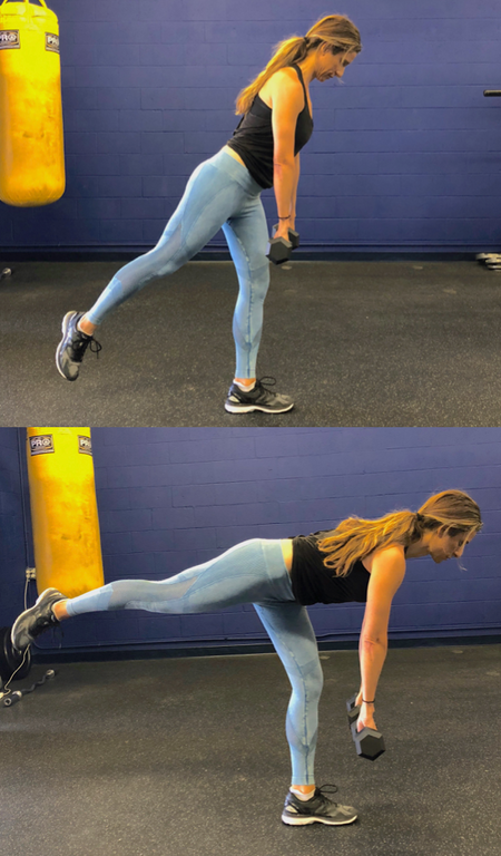 1c. Glute Bridge w/Band Flutter