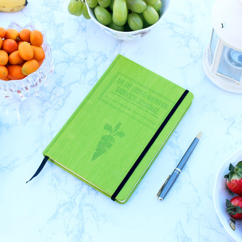 Habit Nest's Nutrition Sidekick journal