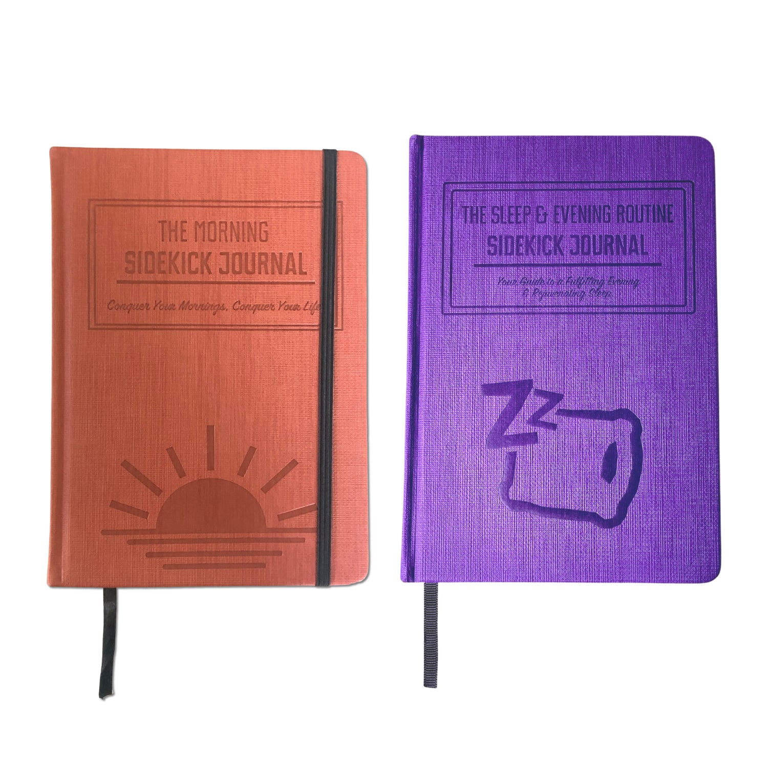 Bundle: Morning Sidekick Journal + Sleep & Evening Routine Sidekick Journal