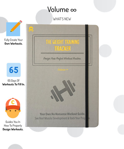 Weightlifting Journal Add-Ons, Volumes 2-4