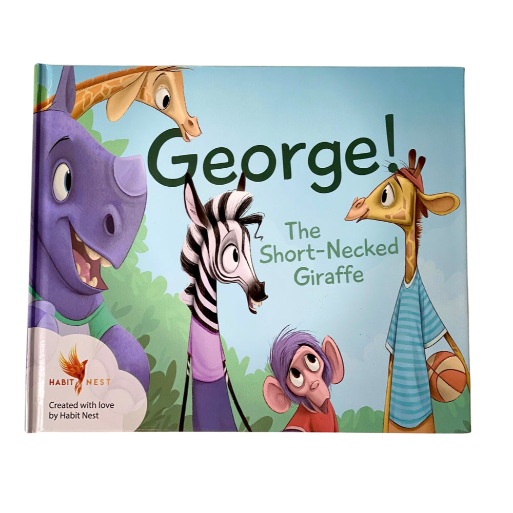 George The Short-Necked Giraffe (Children's Book)
