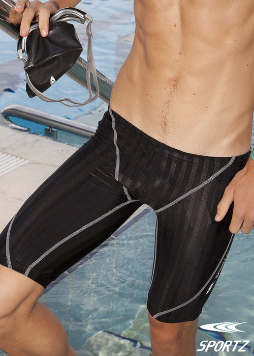 Black Ribbed Jammers 91022