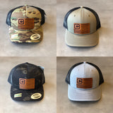 Costa Defense Leather Flag SnapBack