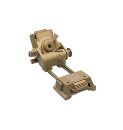 Wilcox L4 G24 Mount with Low Profile Breakaway Base - Tan