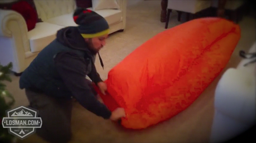 How To Inflate the Hangout Bag