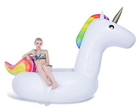 Gigantic 6.5' Inflatable Unicorn