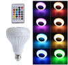 Image of 10,000+ Hour Bluetooth LED Lightbulb Speaker