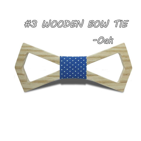 Bamboo Butterfly Bow Tie