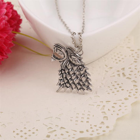 Game of Thrones: Stark Wolf Necklace