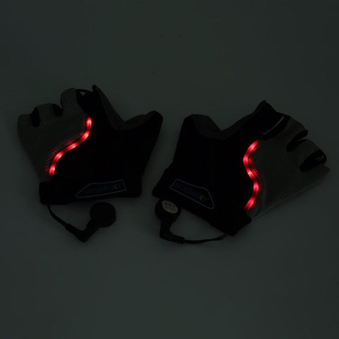 LED Cycling Gloves
