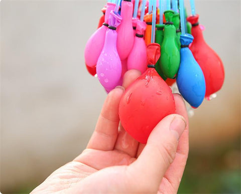 Instant Water War Balloon Pod