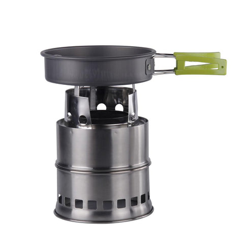 Ultralight Wood Burning Camp Stove